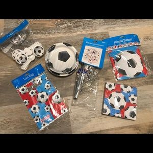 Other - Soccer party items!